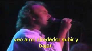 THROWING IT ALL AWAY, GENESIS,EN VIVO,Subtitulada en español.