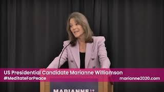 Peace & Politics - Marianne Williamson in Fairfield, IA