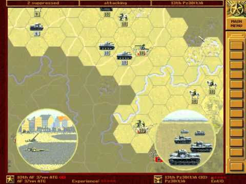 Let's Re-Play - Panzer General - The Grand Campaign - 001 - Poland - Part 001 - by MrKritik77