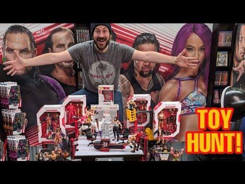 TOY HUNT!!! WWE MATTEL WRESTLING FIGURE WAREHOUSE TOUR - FINAL PART