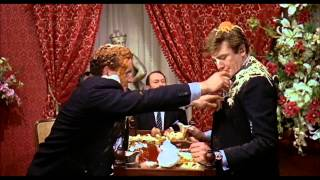 Charlie Bubbles (1967) - the food fight scene
