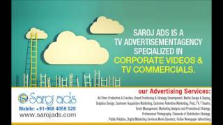 Effective TV Advertising Agency in Chennai, Bangalore, Hyderabad, Delhi, India – Sarojads.com