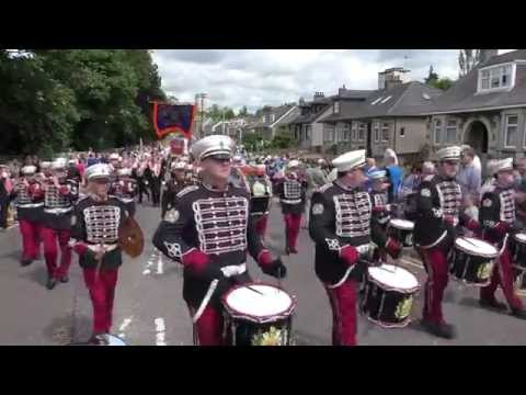 The County Orange Lodge of Central Scotland - Motherwell BIG Walk 2015