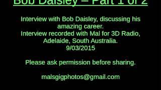20150309 Bob Daisley Interview Part 1