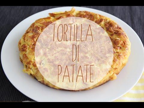 tortilla di patate ricetta originale spagnola