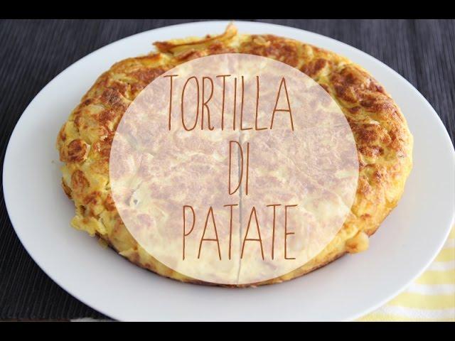 Ricetta Per Tortillas Spagnole.Tortilla Di Patate Ricetta Originale Spagnola Youtube