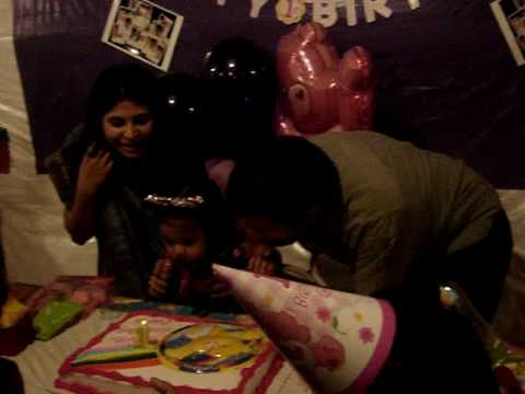 Prachi's 1st Birthday