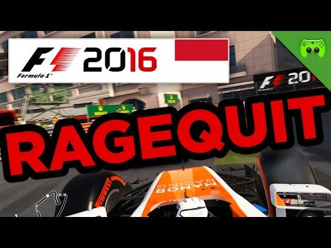 RAGEQUIT | Monaco 2/2 🎮 F1 2016 #70