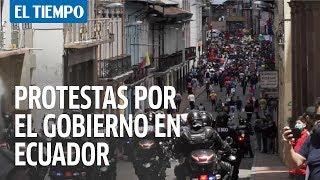 Protestas en Ecuador por medidas del gobierno en medio de la pandemia
