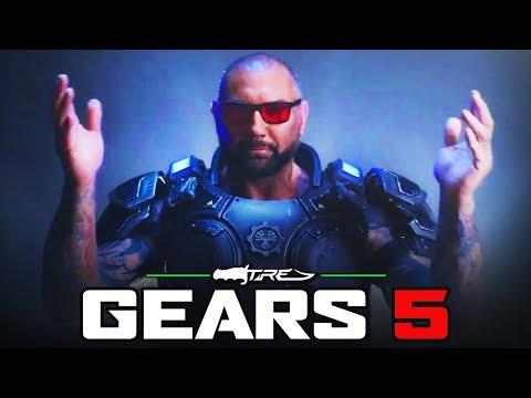 GEARS 5 - Dave Bautista in Gears 5 Trailer (GEARS 5 Batista Character Trailer)