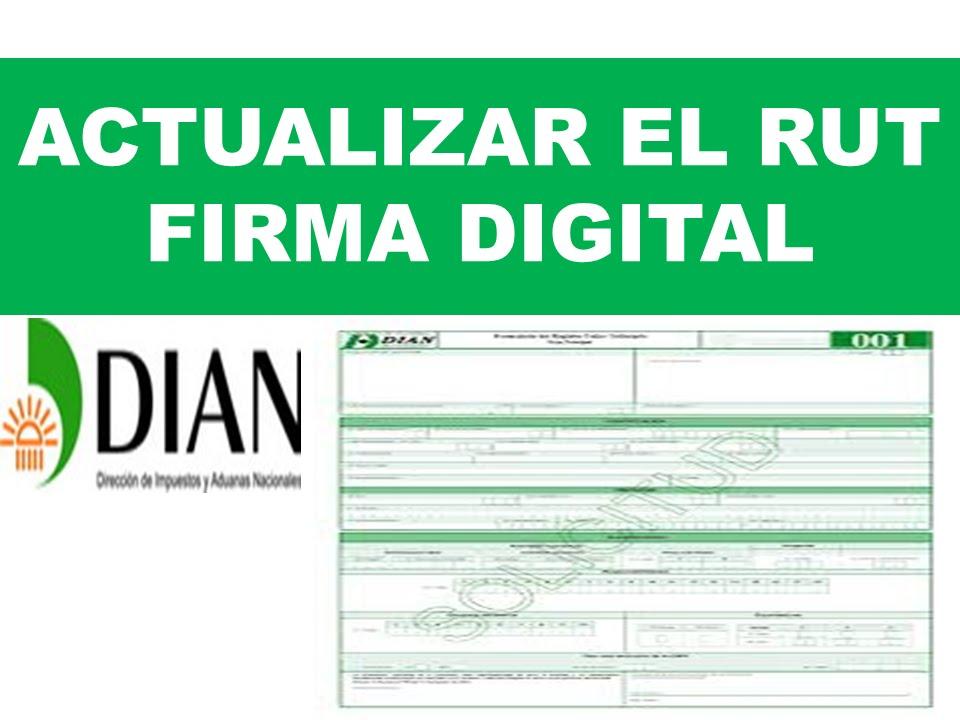 Como Se Puede Actualizar El Rut Con Firma Digital En C
