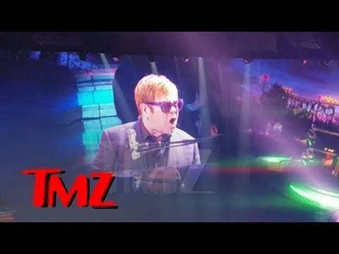 Elton John Loses It When Handsy Fans Get Onstage, Walks Off Vegas Concert  TMZ