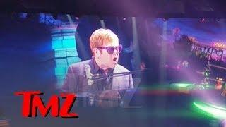 Elton John Loses It When Handsy Fans Get Onstage, Walks Off Vegas Concert | TMZ