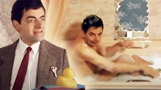 BATHROOM Trouble | Funny Clips | Mr Bean Official
