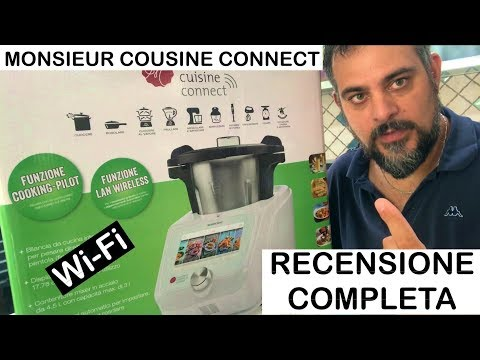 Monsieur Cousine Connect. Lidl. Silvercrest. RECENSIONE COMPLETA. bimby wi-fi wifi. Plus. display