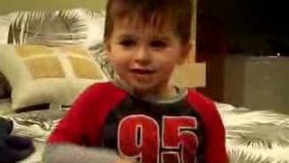3 year old renedtion of rascal flatts life is a highway