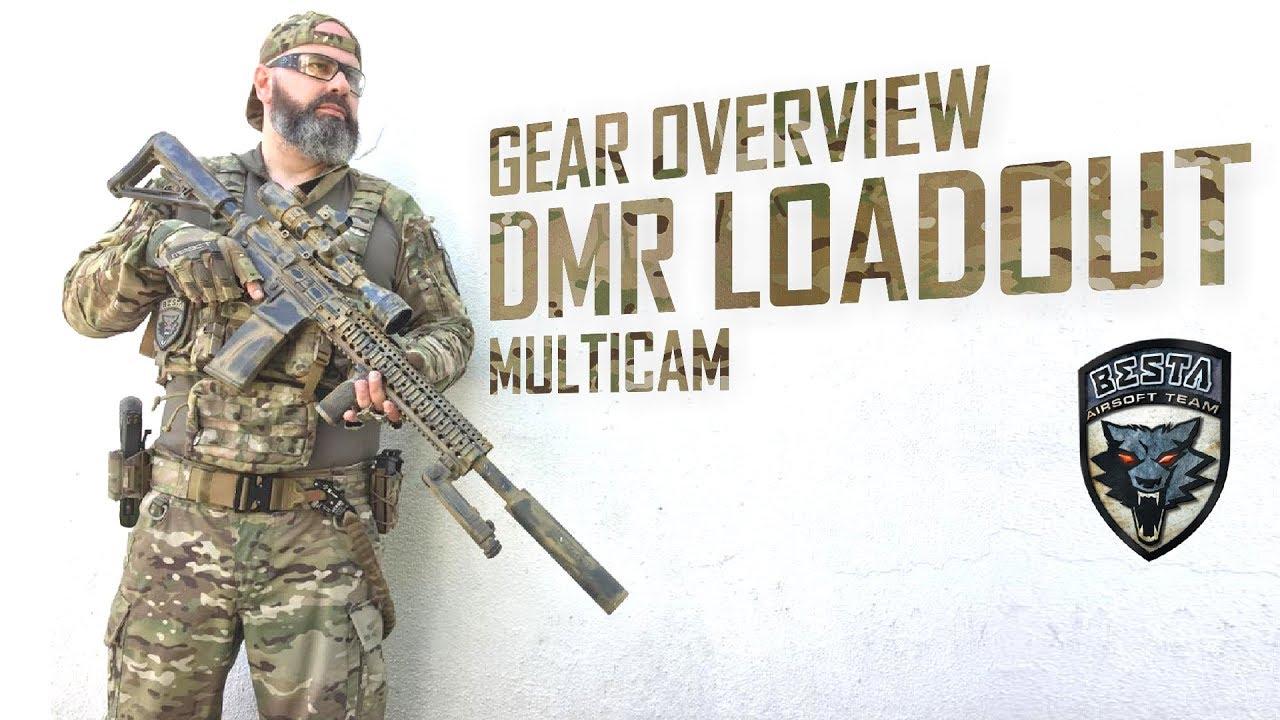 B18 DMR Loadout Overview [ Chest Rig ] [ Multicam ]