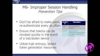 owasp appsecusa 2011 owasp mobile top 10 risks