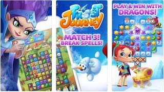 Frost Journey Gameplay iOS/ANDROID (By Puzzle Dreams Limited)