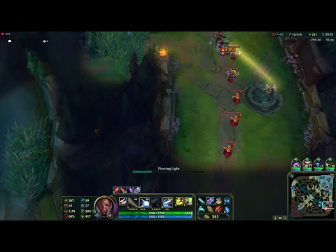 League of Legends game with friends