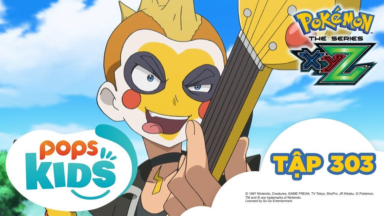 Pokémon Tập 303 - Serena trở thành Satoshi! - Hoạt Hình Pokémon Tiếng Việt S19 XYZ