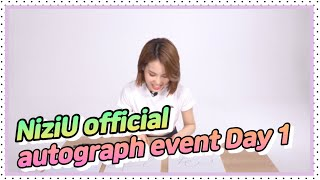 NiziU official autograph event Day 1