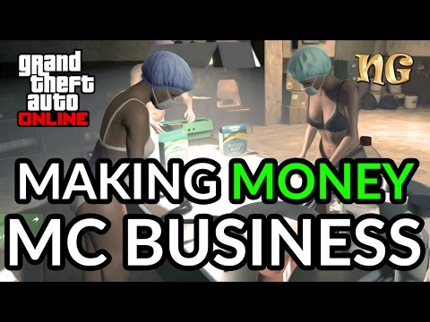 GTA V Online: Making Money With MC Business - Passive Income