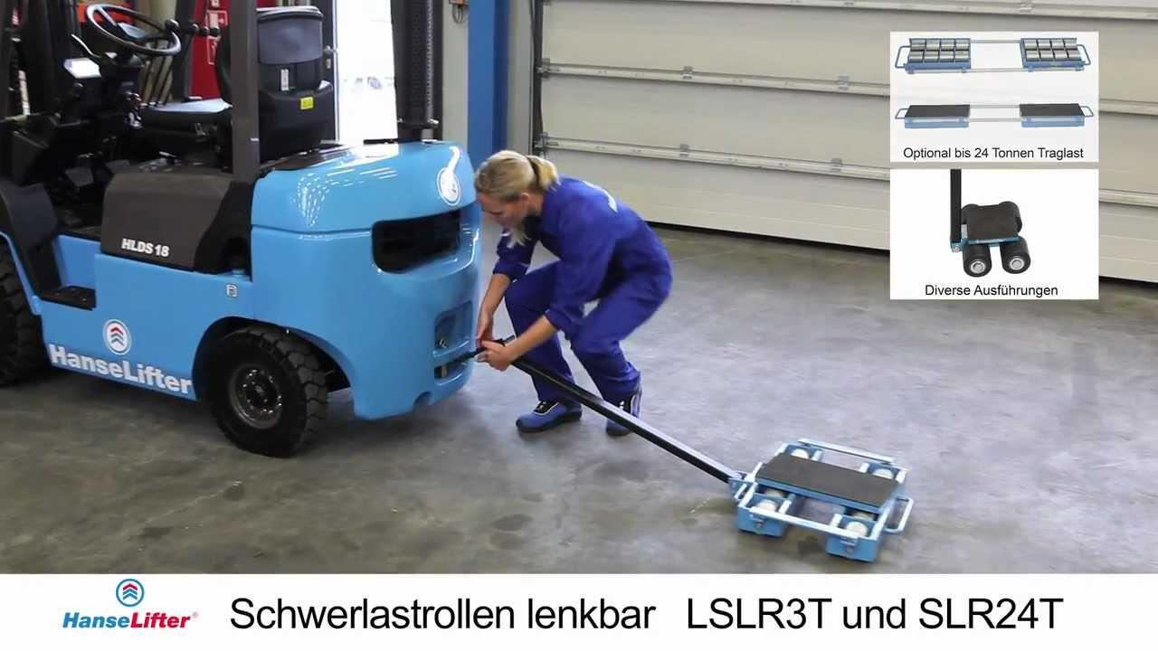 HanseLifter Schwerlastrollen Lenkbar LSLR3T Und SLR24T