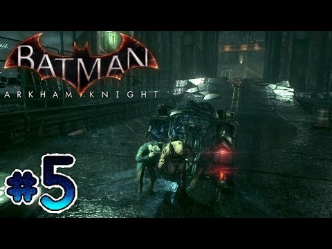 Batman: Arkham Knight Walkthrough Part 5 - Rescue The Workers