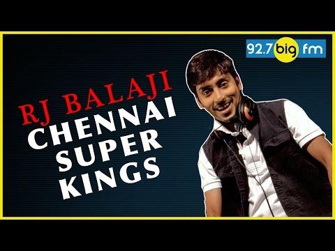 RJ Balaji Chennai Super Kings (08 April 2016) | RJ பாலாஜி