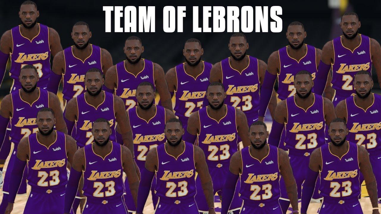 Can A Team Of LeBron James Go 82-0  NBA 2K18 Challenge! - YouTube 7c4c77b80