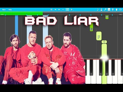 Imagine Dragons - Bad Liar Piano Tutorial EASY (Piano Cover)