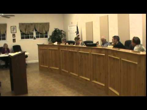 China Grove, Texas (WCN) Council (2 of 3) 10/02/2014