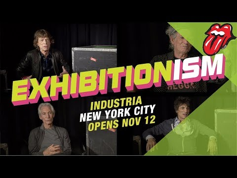 Mick, Keith, Charlie & Ronnie on EXHIBITIONISM Thumbnail image