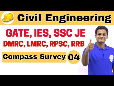 9:00 AM | Civil by Nikhil Sir | Day #04 | Compass Survey