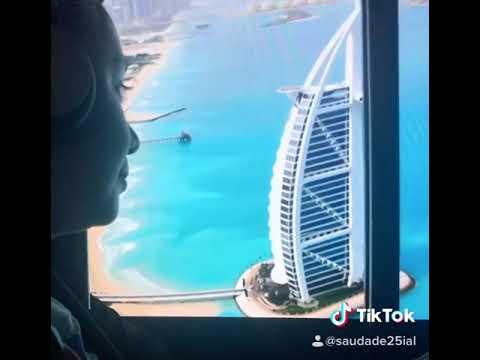 The best experience Helicopter ride Burj Al Arab Dubai view 😍😍😍