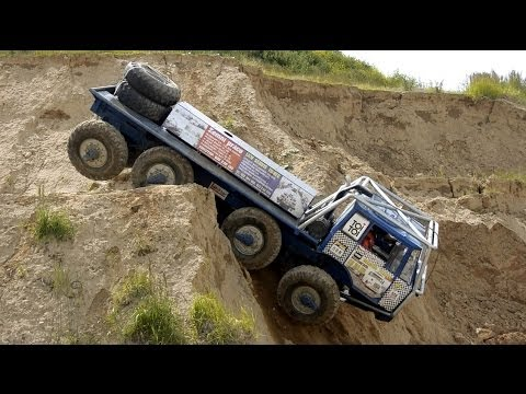 Extreme Off Road 8X8 Truck Trial