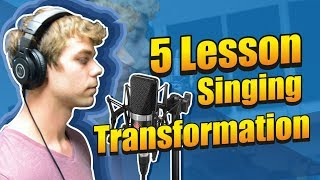 Amazing Singing Transformation in 5 LESSONS