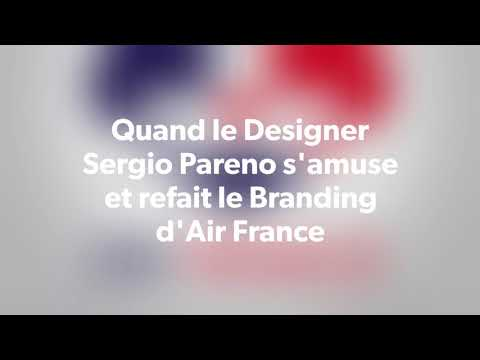 Projet Branding  Air France par Sergio Pareno