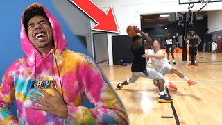 Reacting to Cash King Of The Court Basketball vs AMP! Ankles Hit The Floor!