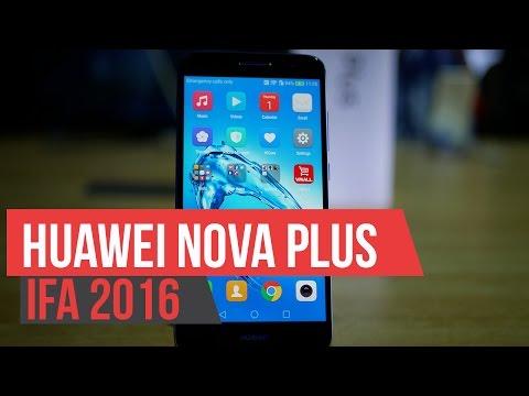 Huawei Nova Plus - Hands On IFA 2016
