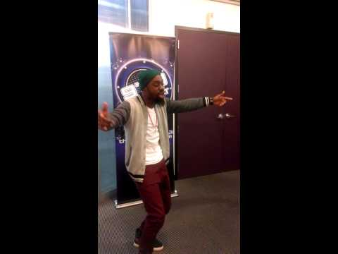 "Mali Music performing ""Fight For You"" 979 The Beat"