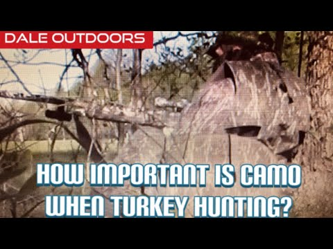 How Important Is Camo When Turkey Hunting