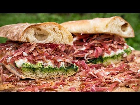 EASY MEAT SANDWICH RECIPE!