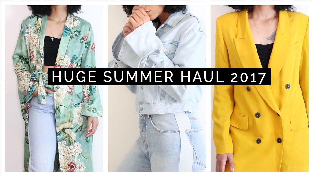 2b9594a5 HUGE Summer Haul & Try-On 2017 || ASOS, Zara, Topshop, Reformation ...