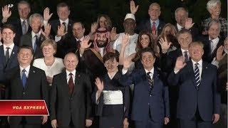 Thượng đỉnh G20 nêu bật những quan tâm về thương mại toàn cầu (VOA)