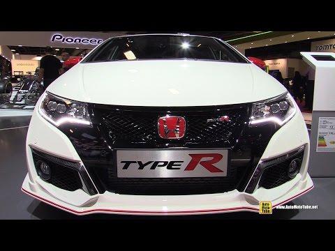 2017 Honda Civic Type R White Edition - Exterior and Interior Walkaround - 2016 Paris Motor Show