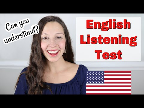 Advanced English LISTENING Quiz: Can you understand?