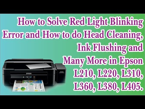 Epson inkjet Printers Maintenance Technique, Lining in