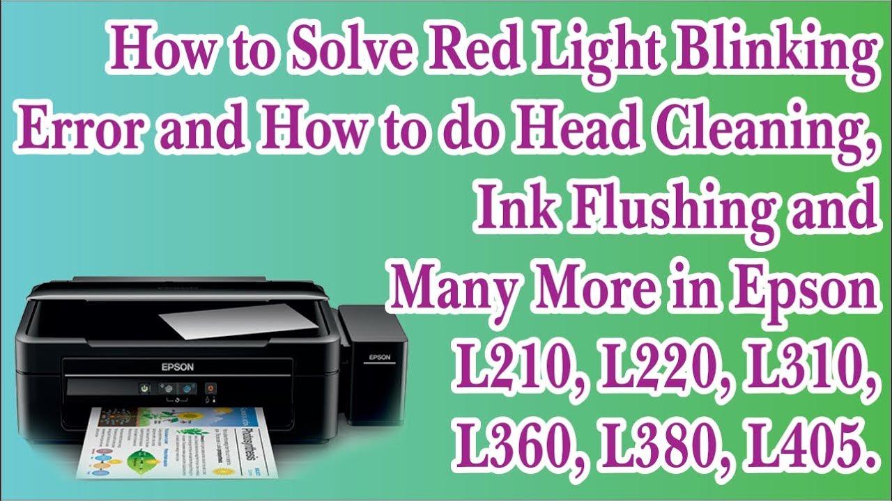 Click to Watch > Epson inkjet Printers Maintenance Technique